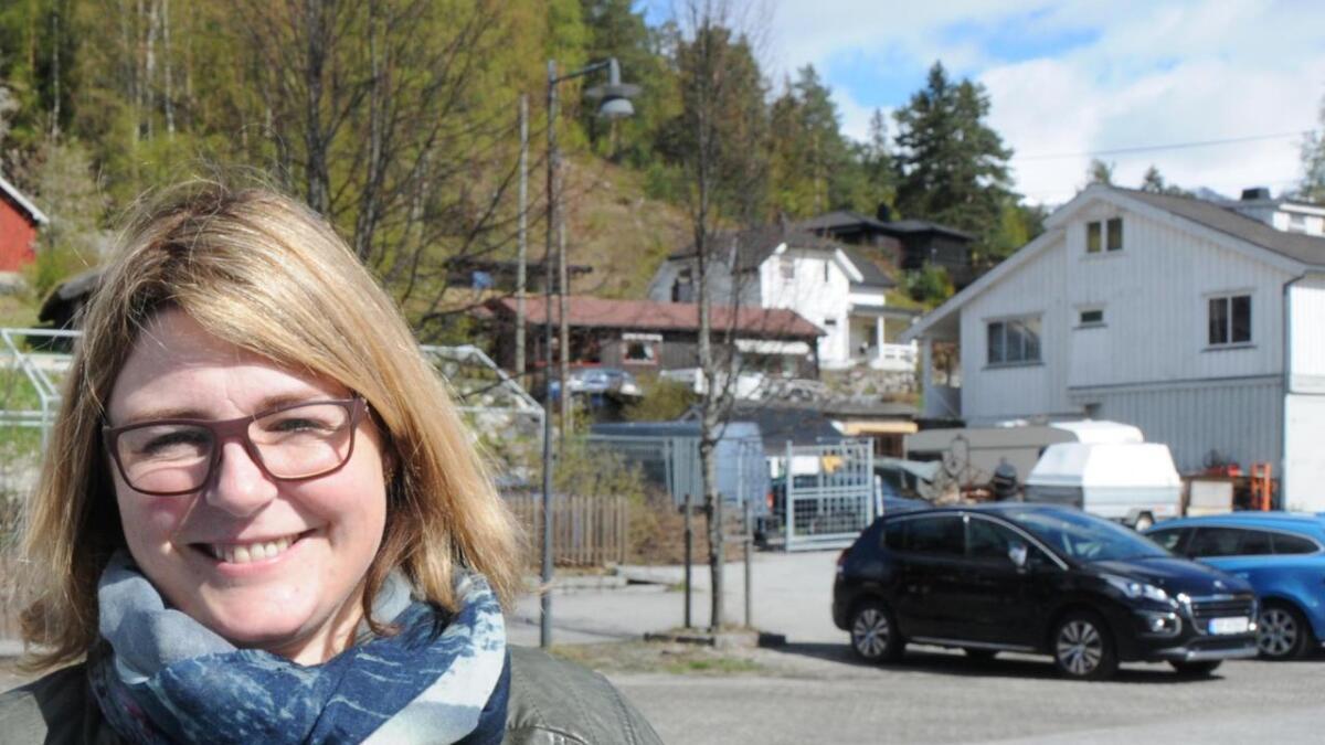Hilde Hagen-Nielsen overtek bokhandelen på Bø-senteret.