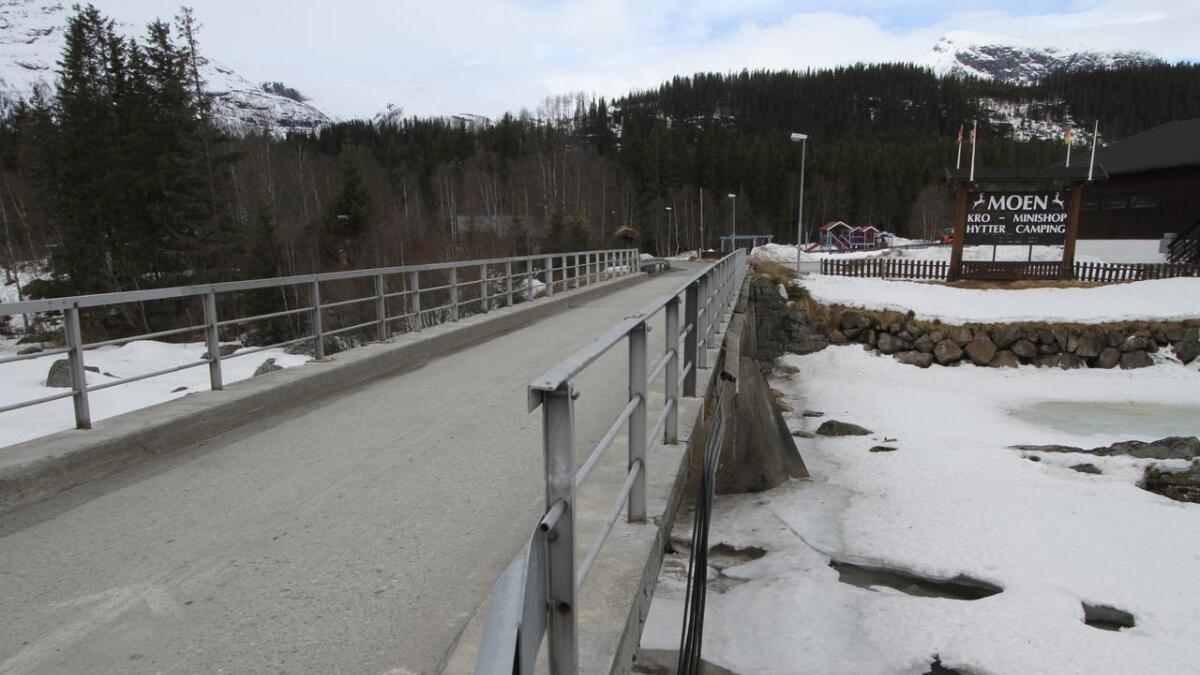 Hemsedal kommune kan tenke seg tilskot til utbetring av Moen bru, i form av ein gangveg.