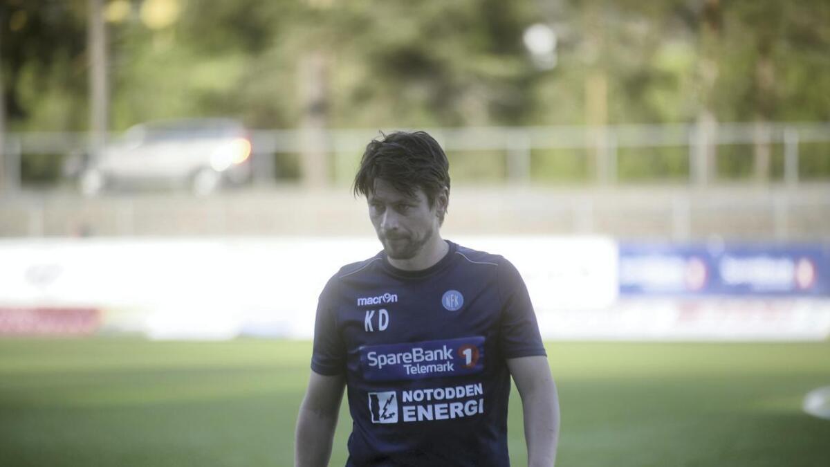 Kenneth Dokken og Notodden tapte for Ull Kisa.