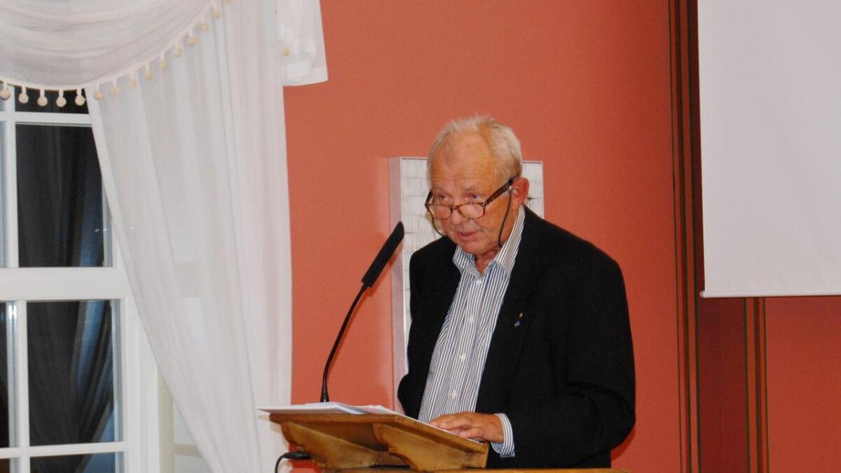 Arnt Helleren er Pensjonistpartiets førstekandidat.