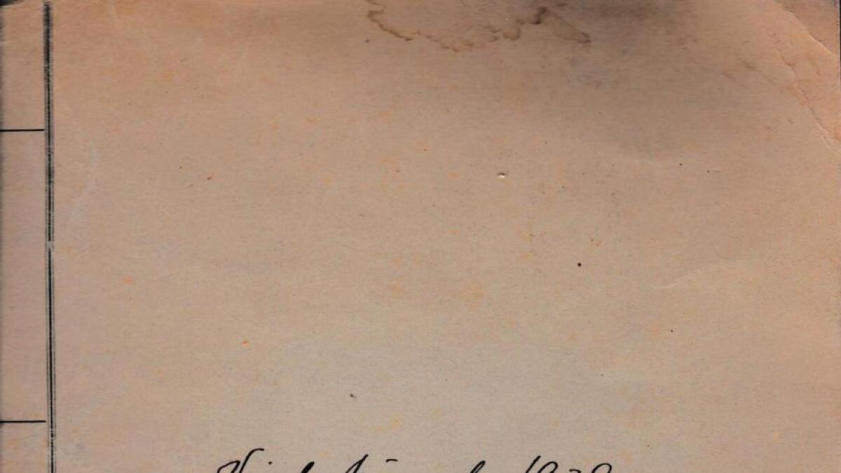 Henrik Bruns private notater
