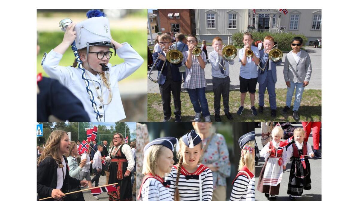 17. mai 2019 ble virkelig barnas dag i Telemark.