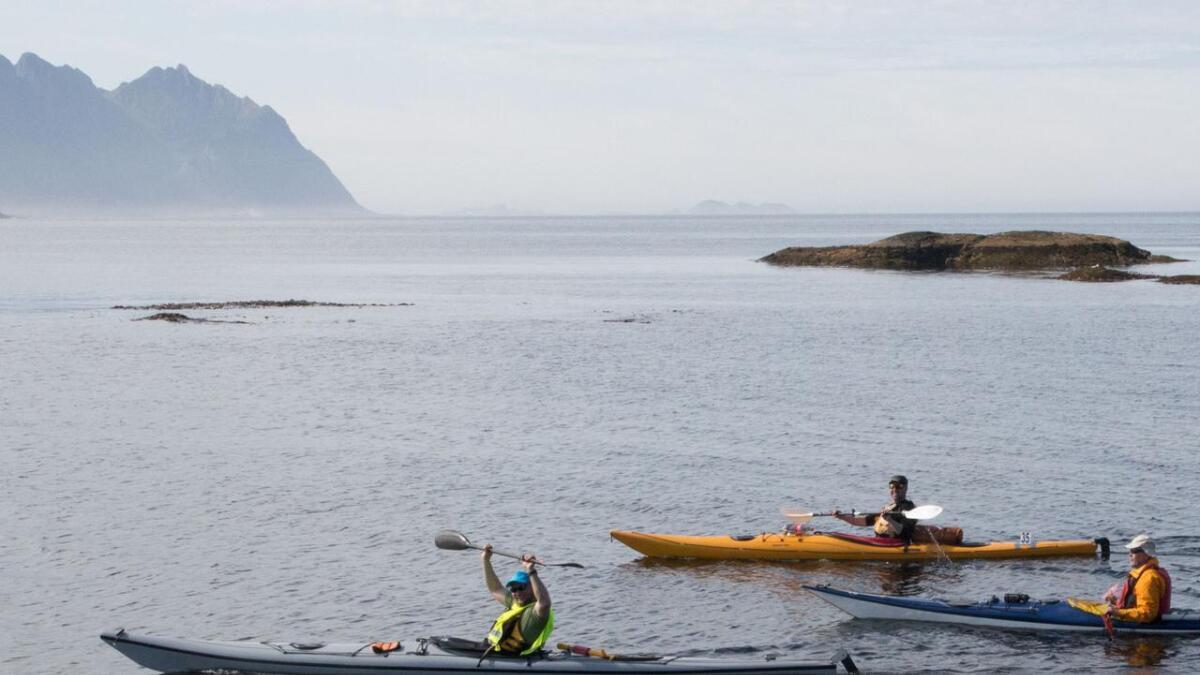Lær sikker padling av Lars Oven Pettersen.