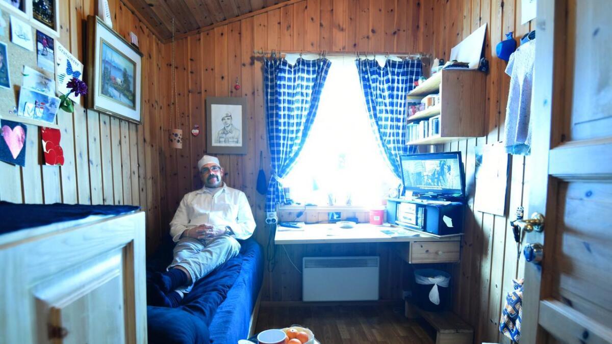 Både innsatt og ansatte trives svært godt på Kleivgrend fengsel i Fyresdal.