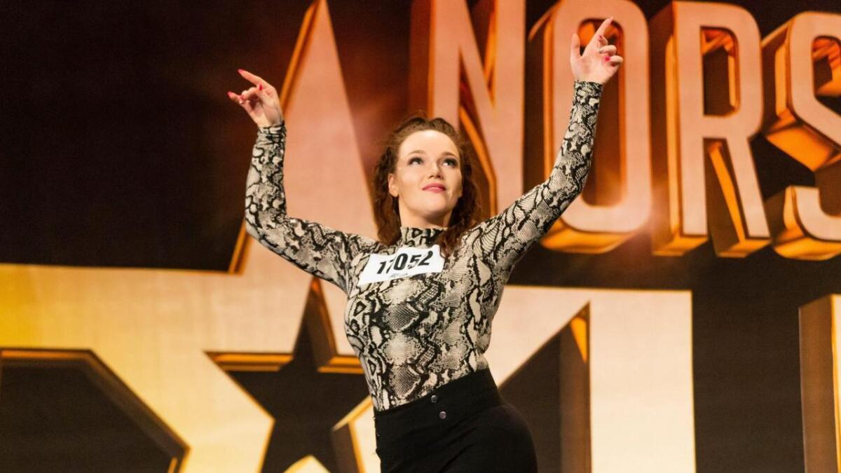 Irlin Finsådal gikk videre fra audition i Norske Talenter.  88Foto TV2