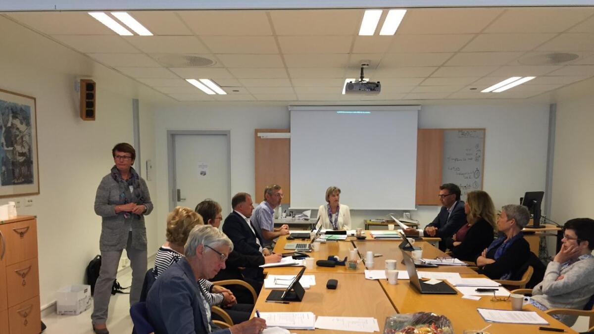 Klinikksjef Gun-Elise Gustafsson orientert styret for Sørlandet sykehus om den for høye bestrålingen.