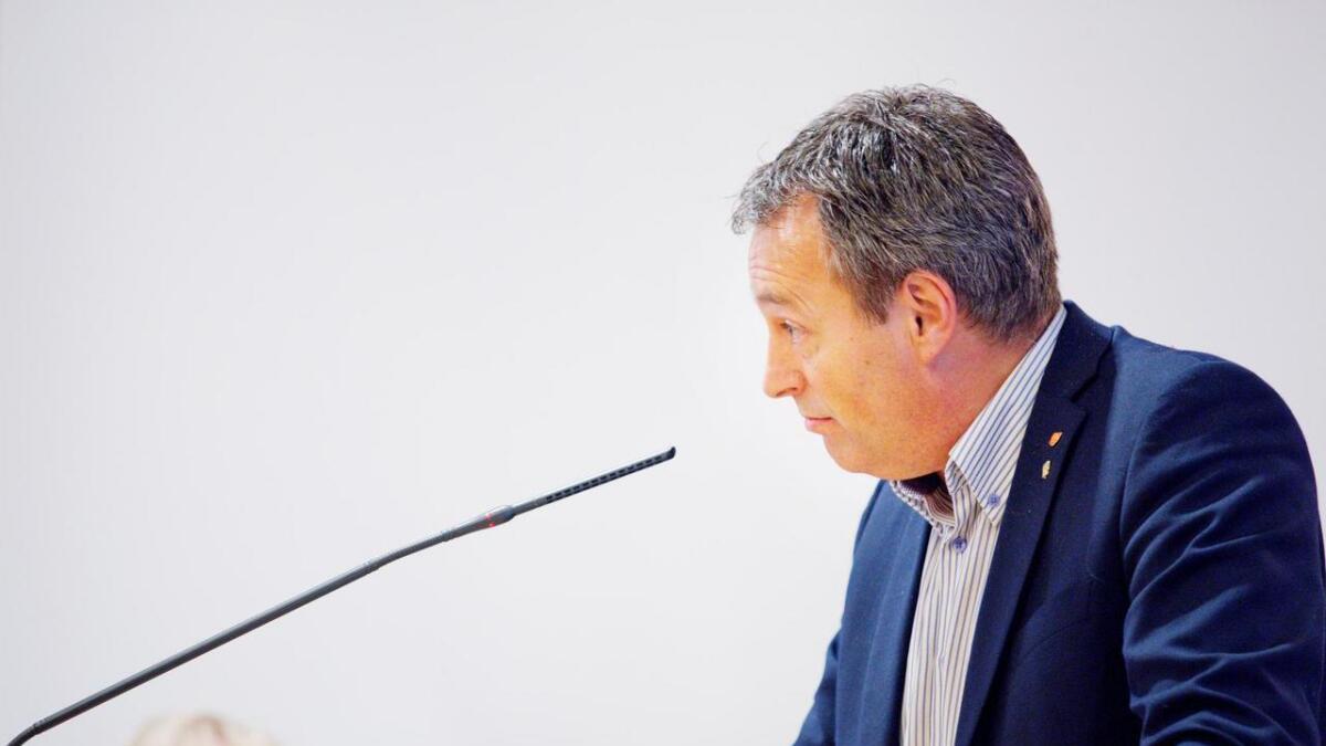 Sigbjørn Framnes (biletet) meiner Kjellbjørg Lunde feilinformerer.