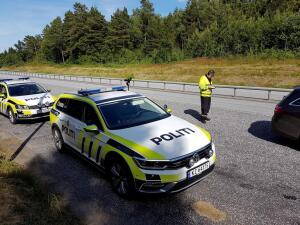 Politiloggen for Agder: Ble anmeldt etter E18-kjøring