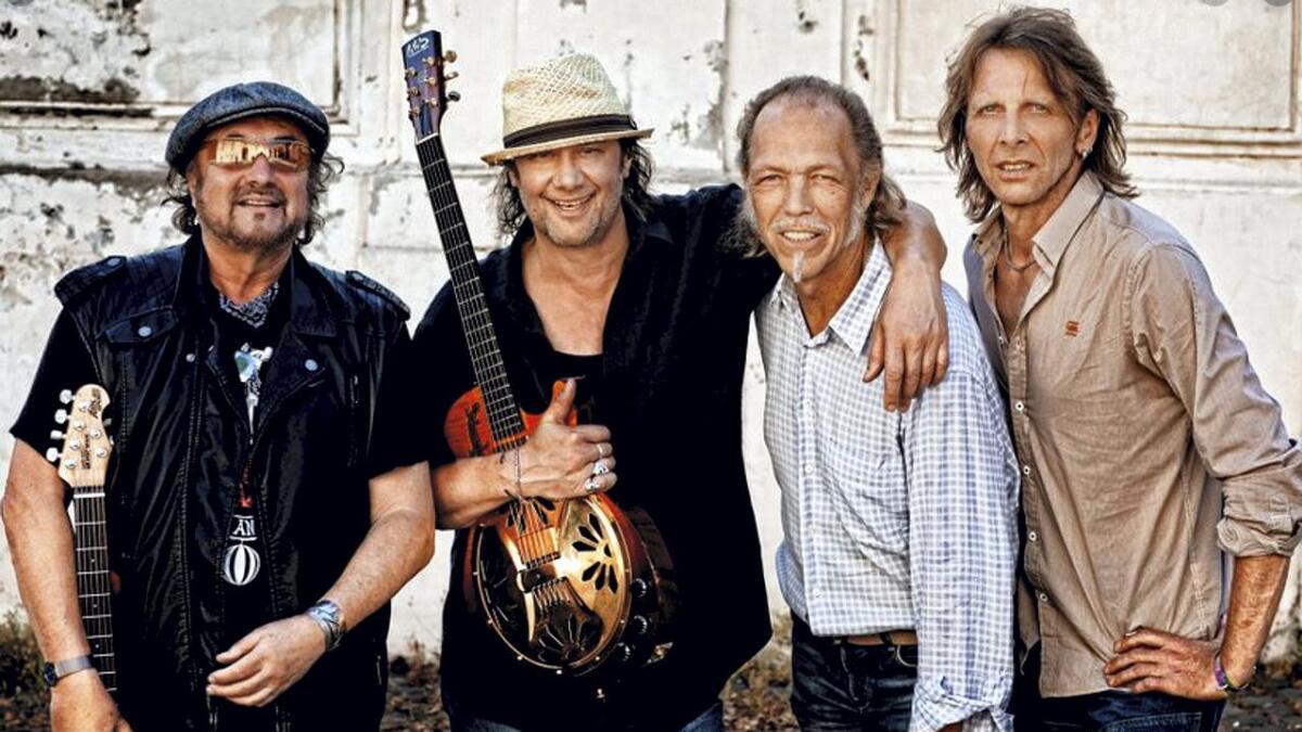 Hamburg Blues Band med venner er klare for Pakkhuset.