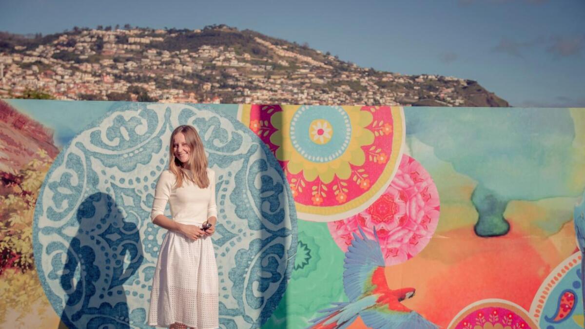Marjit tilbringer 12 fargerike og musikalske dager på Madeira.