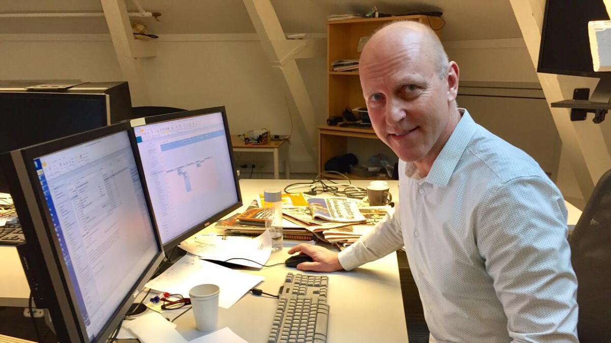 – Evan McLaren er ingen hvemsomhelst, påpeker sjefredaktør Øyvind Klausen.