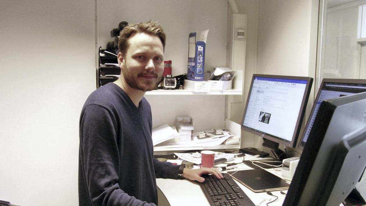 Åmund Røsholt skal på offensiven i sosiale medier, bare billettkjøret er unnagjort.