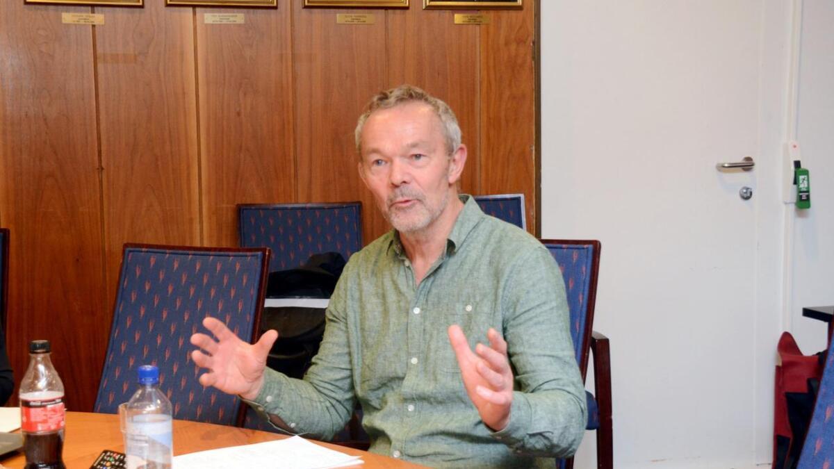 Styremedlem i GEU, Jan Willy Føreland, var torsdag i formannskapet for å redegjøre for Torskeholmen-saken for politikerne. De likte godt det han sa, og vedtok aksjonæravtalen.