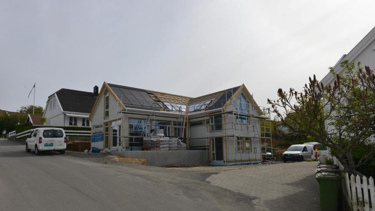 Det nye bygget i S.N. Hansensgate har vært en kilde til flere konflikter.