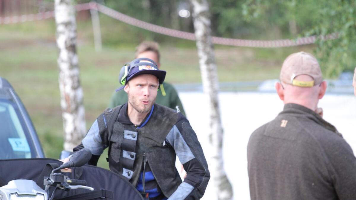 Geir Atle Metveit og de andre klasse 5-skytterne skal ut i felt på søndag.