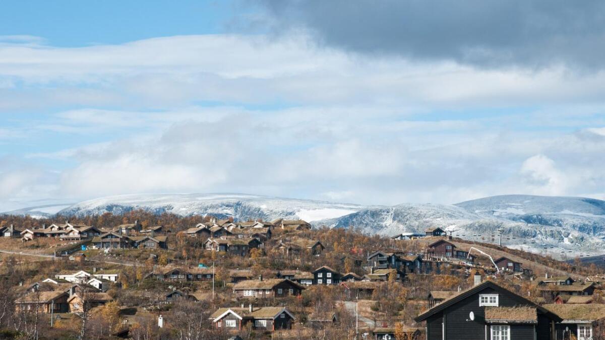 Geilo og Hol kommune er heilt i toppen så langt i år med høge gjennomsnittsprisar på hytter.
