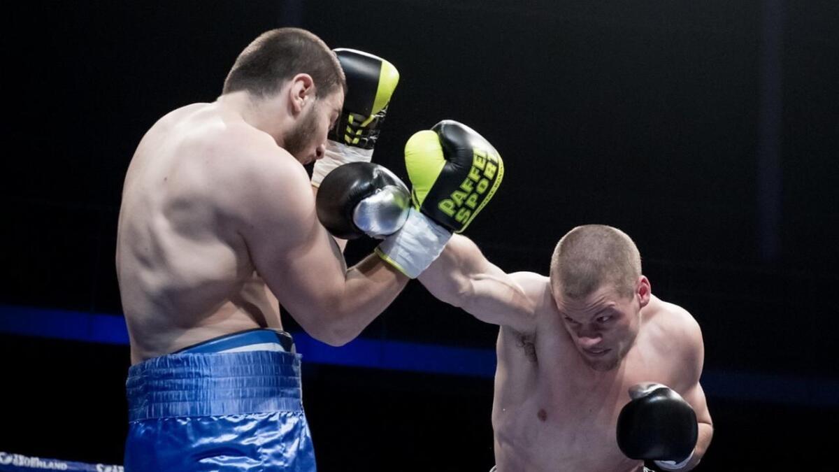 Kai Robin Havnaa tok seg av Levani Lukhutashvili i Forum Horsens 22. juni i år, men rivalen fra Georgia rakk å få inn en høyre hook som gjorde at trommehinna sprakk.