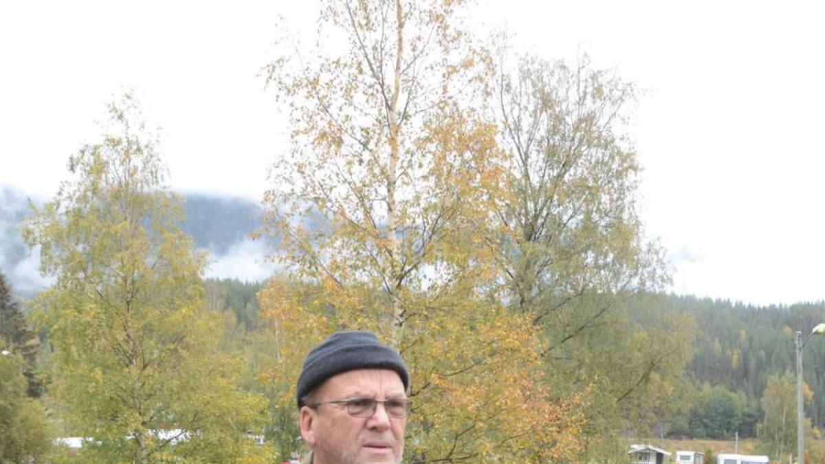 Campingplasseigar Frode Salvesen håpar på kommunal hjelp.