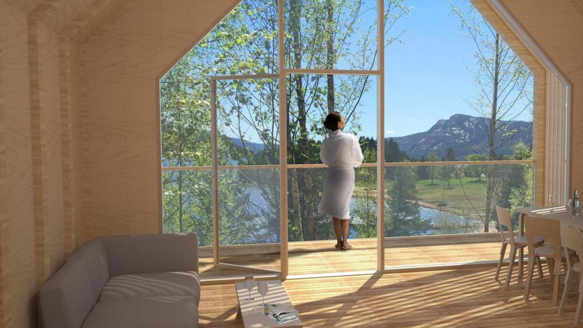 Det planlegges flere hytter på Svivkollen i Nissedal. Snøhetta kan være de som tegner designhyttene.