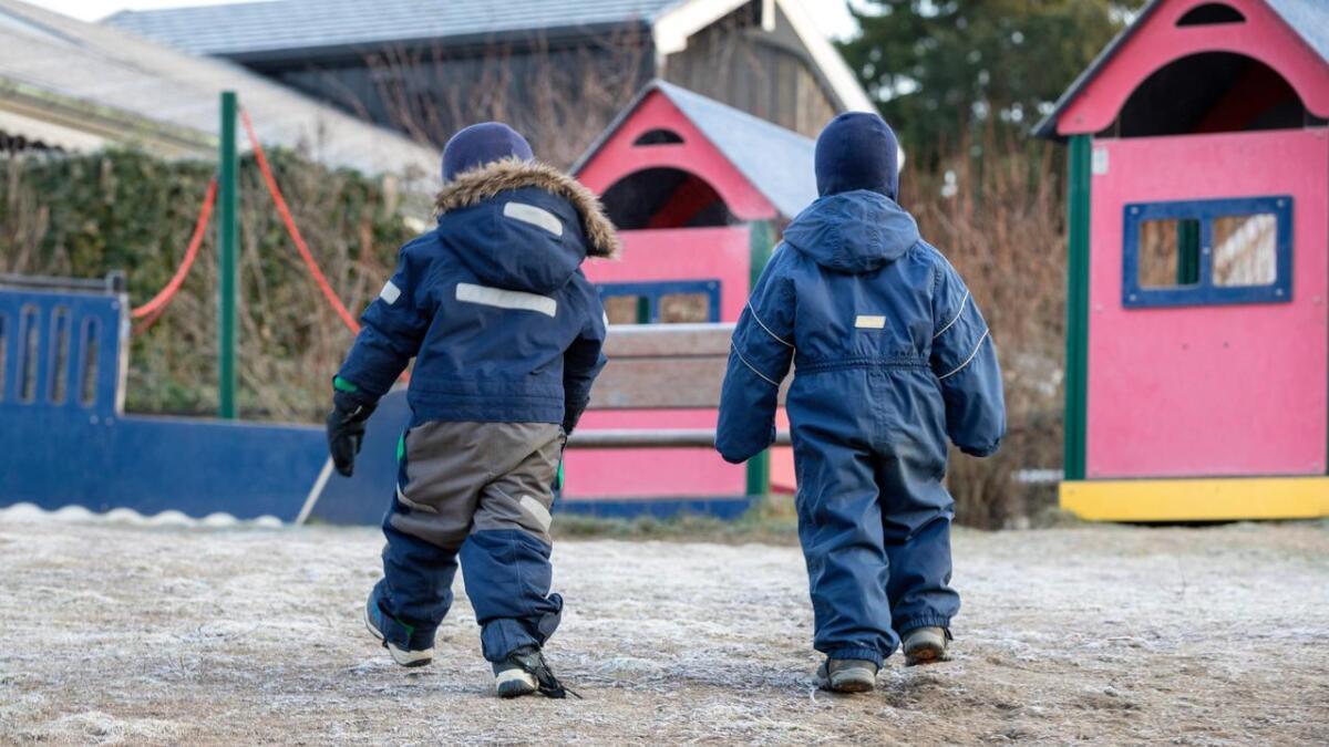 SSB-tall viser at det er liten forskjell på privateide og offentlige barnehager.