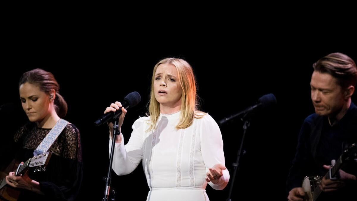 Ingrid Olava er på det musikalke programmet til litteraturfestivalen Bjørg Vik-dagene i Porsgrunn.