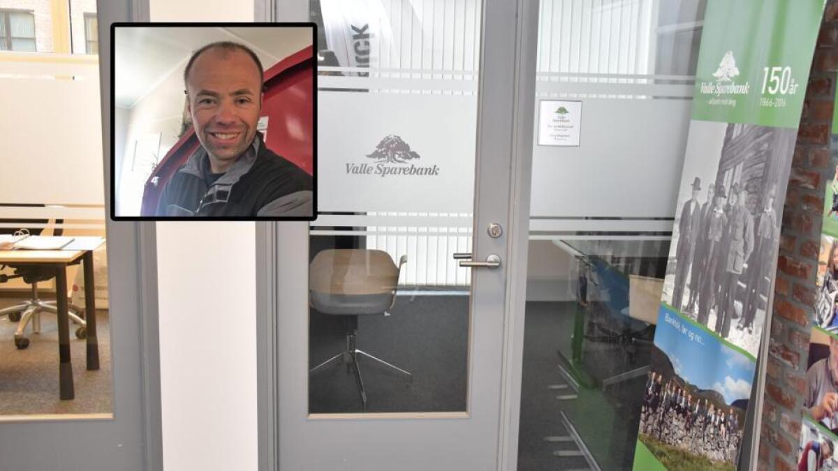 Valle Sparebank og banksjef Jostein Rysstad vurderer å utvide tilbudet sitt i Vennesla.