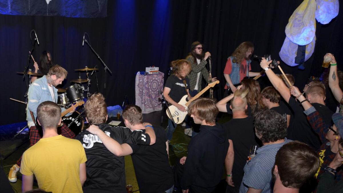Underwing på scenen på Lille Torungen i Arendal kulturhus lørdag 7. september 2019.