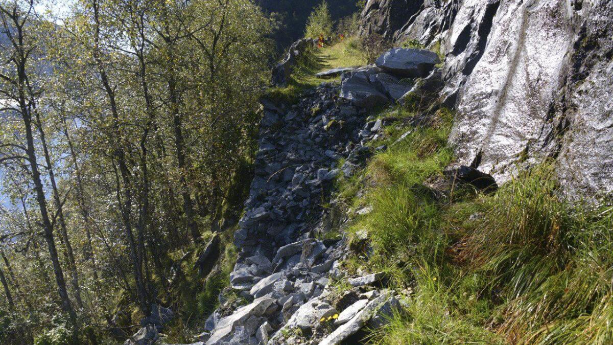 Vegen til Grøttå.