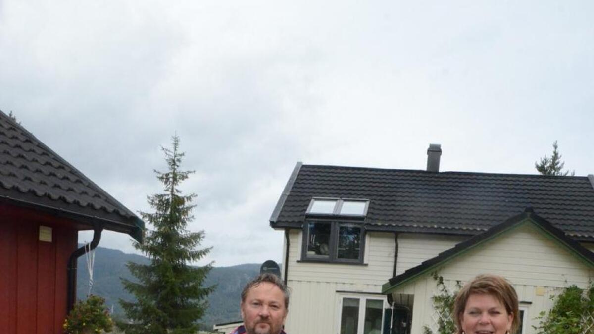 Merete H. Gandrud blir ny ordførar i Flå, mens ektemannen Øyvind blir representant.