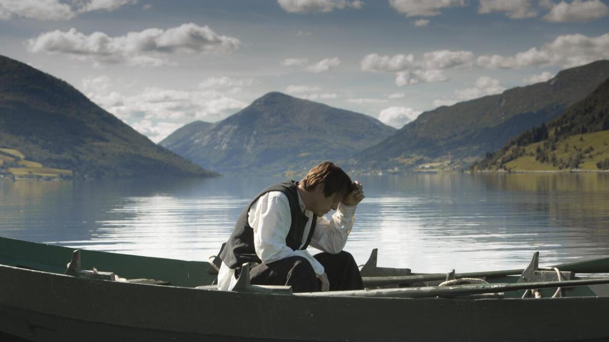 Thure Lindhardt spiller rollen som Nikolai Astrup i filmen «Astrup - Flammen over Jølster».