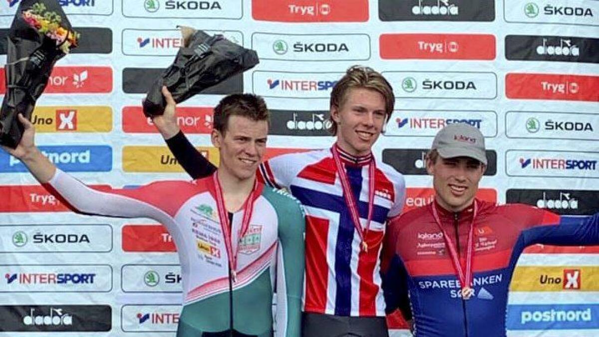 Oskar Myrestøl klinket til med NM-bronse torsdag.