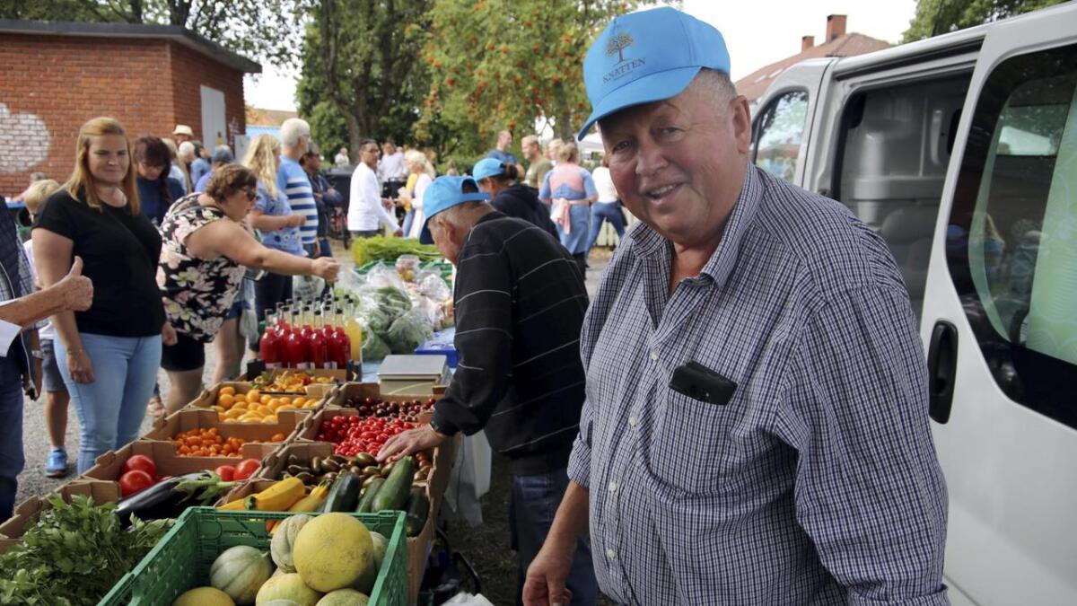 Nils Ingar Knatten gleder seg over å være tilbake på Snipetorpmarken, etter at et hjerteinfarkt hindret han å ta turen i fjor. Alle