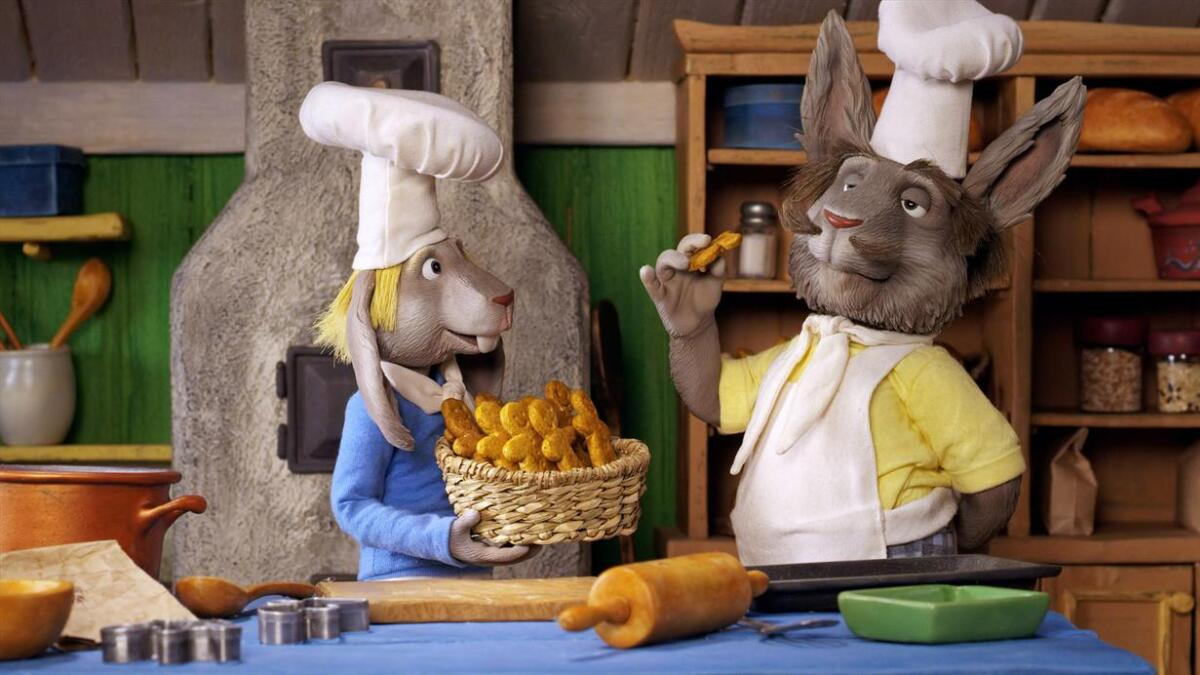 Bakermester Harepus og de andre dyrene i Hakkebakkeskogen er aktuelle i en helt ny film.