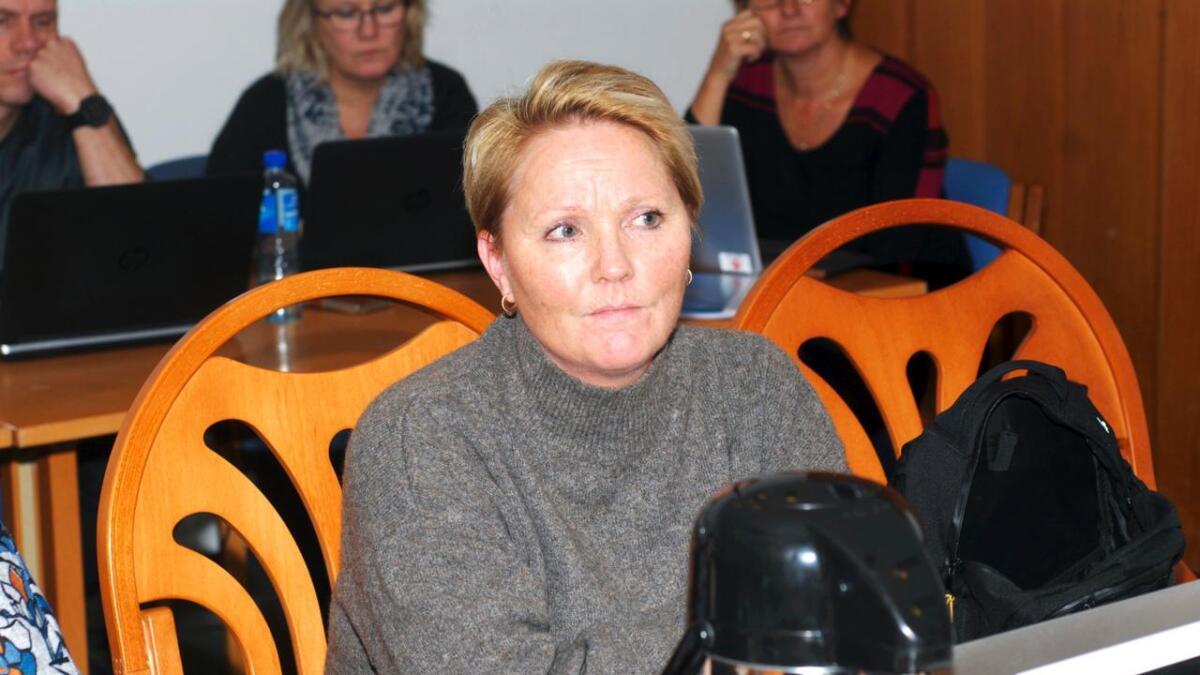 Monica Rolandsen (H) ønsker ikke å være med på et budsjett som legger opp til større bruk av disposisjonsfondet enn det administrasjonen har tatt til orde for i sitt budsjettforslag.