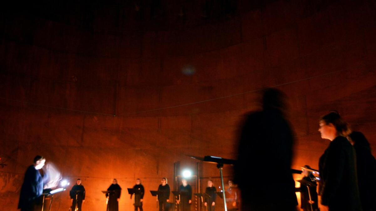 Kammerpikene konserttanken Neptun Melbu
