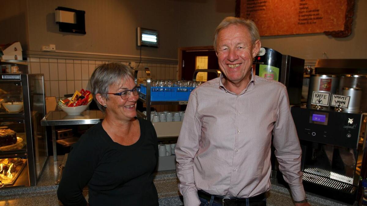 Hilda Sørum og Eivind Lønheim i Norsk Eplefest.