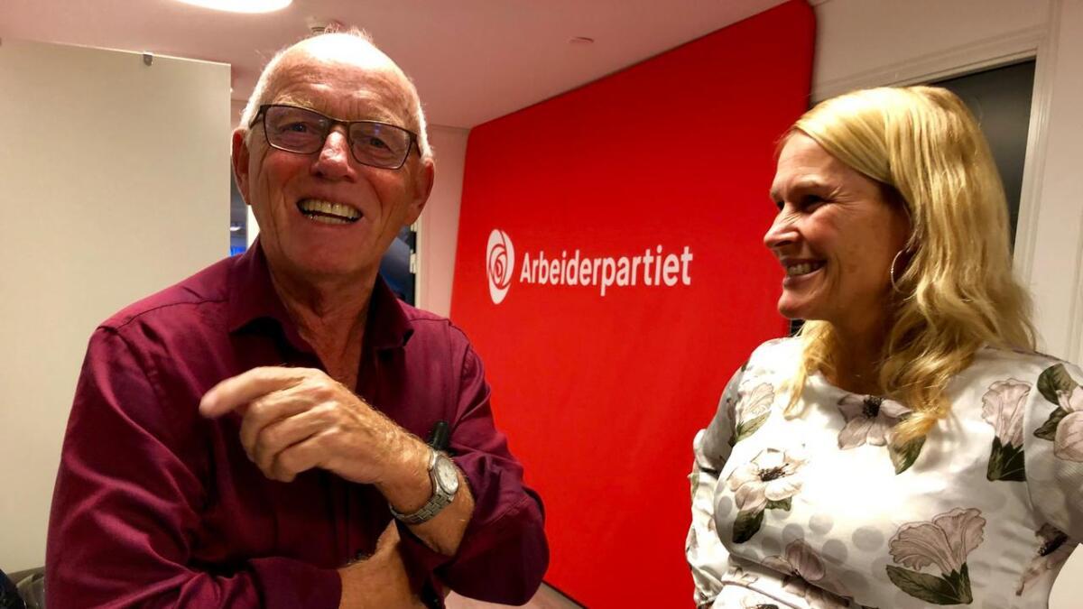 Rolf Erling Andersen og Hedda Foss Five. (Ap)