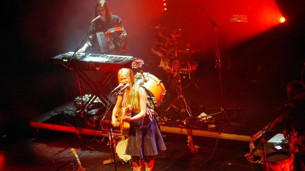 Sol Heilo sparte ikke på kruttet da hun gjestet Sortland jazzfestival fredag kveld.