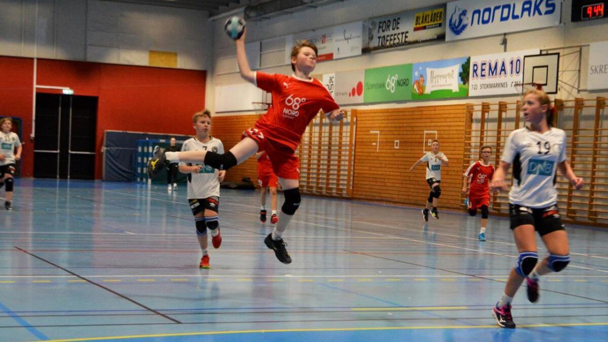 Steinar Lind på Stokmarknes G12 fikk uttelling mot Sortland fredag kveld.