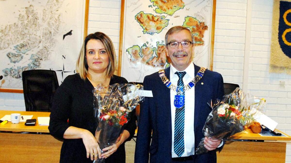 Som henholdsvis ordfører og varaordfører tar Kurt Jenssen (Sp) og Lena Arntzen (H) selvsagt plass i det nye formannskapet i Hadsel.