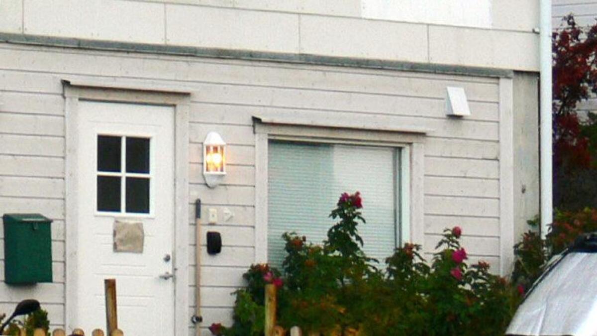 Likfunnet ble gjort i et hus i sentrum av Borkenes.