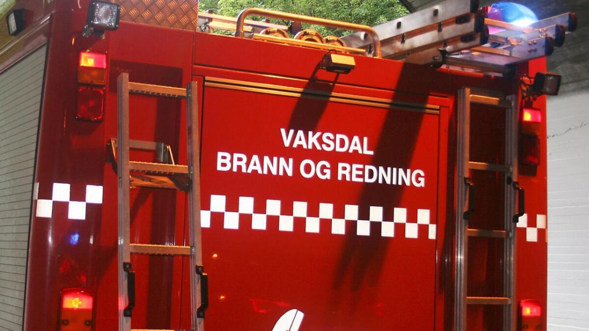 Brannmannskap rykte torsdag ettermiddag ut til ein pipebrann på Stanghelle.
