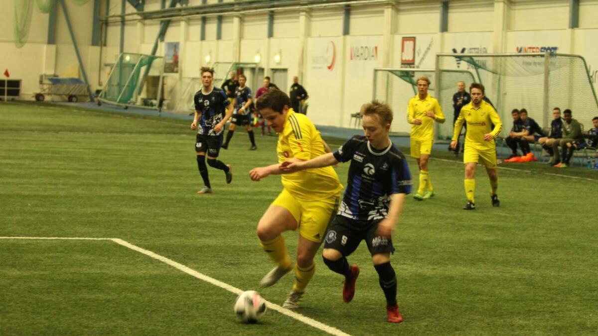 Magnus Karlsen scoret kampens eneste mål mot Høken.