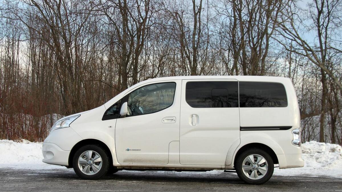 Evalia-modellen er nærmere et nyttkjøretøy enn en personbil.