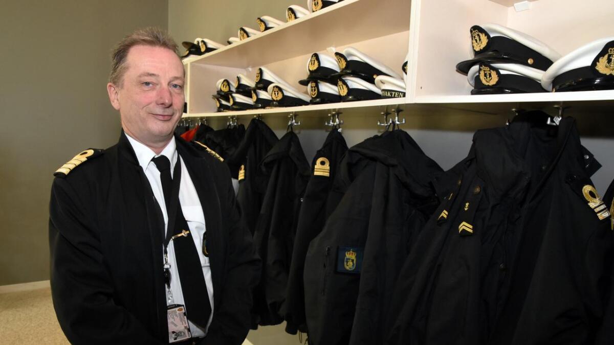 Steve Olsen, nestkommanderende ved Kystvakta.