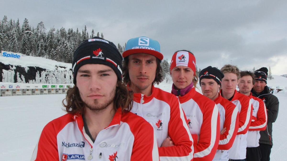 Den canadiske landslaget lada opp til VM i Finland med treningsleir på Voss med Joar Himle.