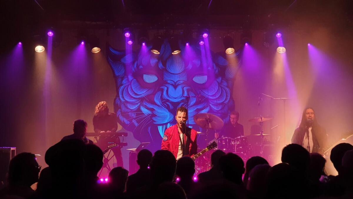 Shining i Blåboksen i Kulturfabrikken fredag.