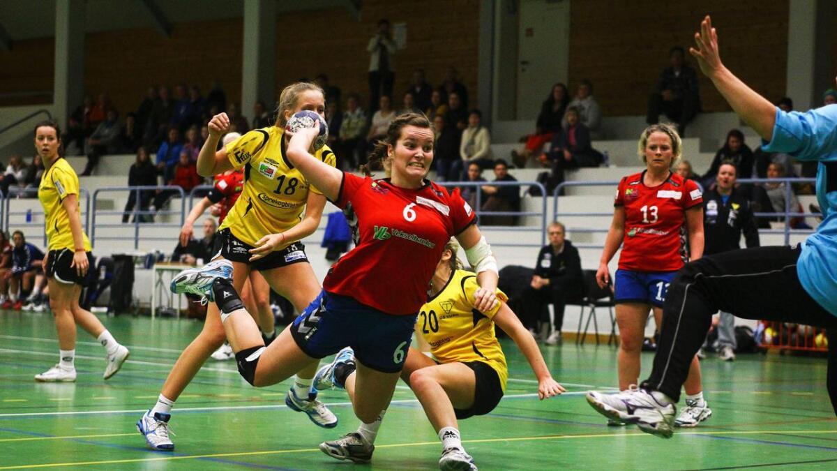 Ingeborg Almeland Tveit og Voss Hk vann borte mot Sund.
