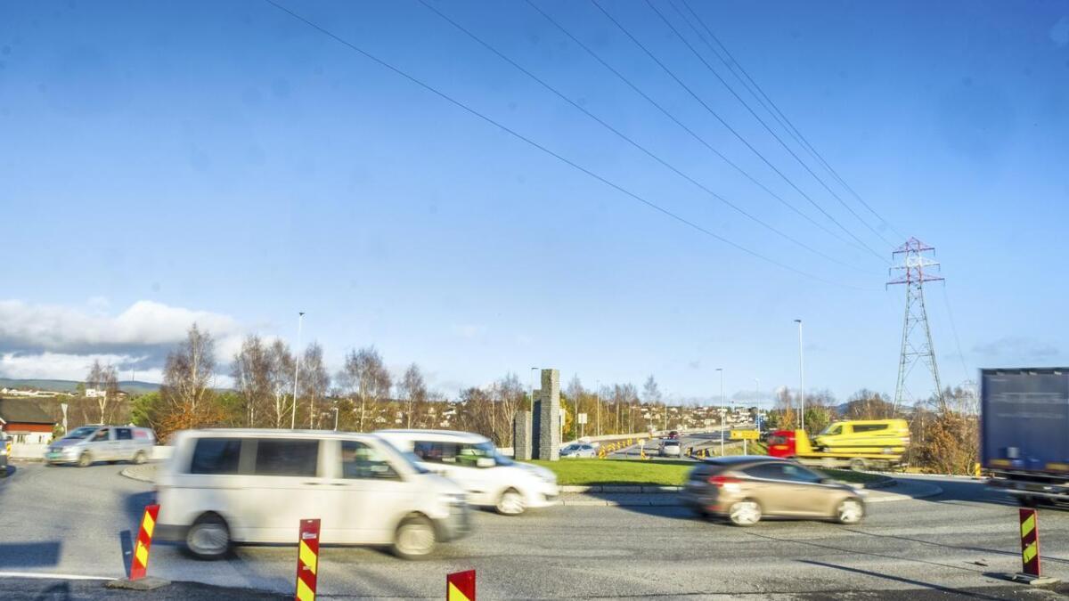 Under ombyggingen har det kjørefeltene vært innsnevret. Men fra begynnelsen av desember vil trafikken flyte enda bedre enn før.