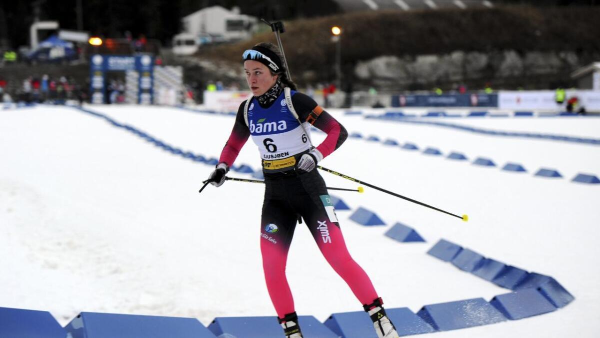 Hilde Fosse, Voss skiskyttarlag debuterte i IBU-cupen i Sverige med helga.